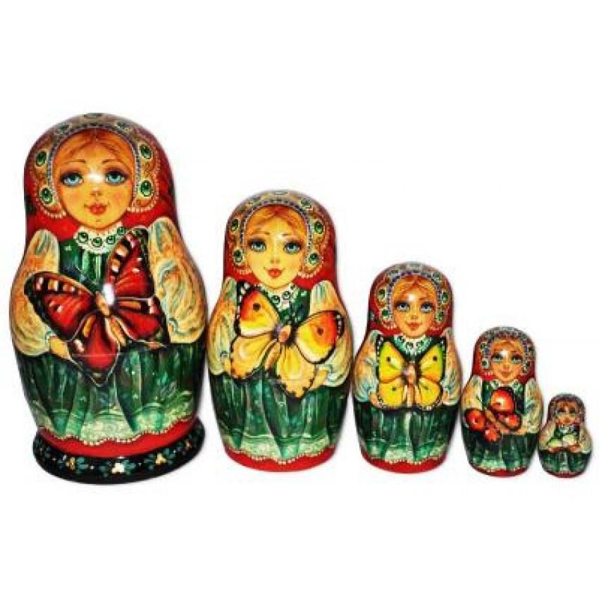 1d97b020946d Butterfly Matryoshka Nesting Dolls