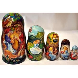 Thumbelina Fairytale - Matyoshka Nesting Dolls