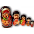 Virgin Mary - Religious Matryoshka Nesting Dolls