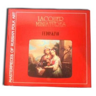 Fedoskino Lacquer Miniatures Book