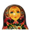 Matryoshka with Bunch of Field Flowers