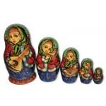 Musicians Matyoshka Nesting dolls