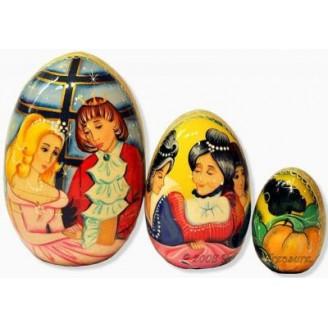 Cinderella fairytale - Matryoshka Nesting Egg