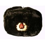 Soviet Army Military Winter Fur Hat, Ushanka