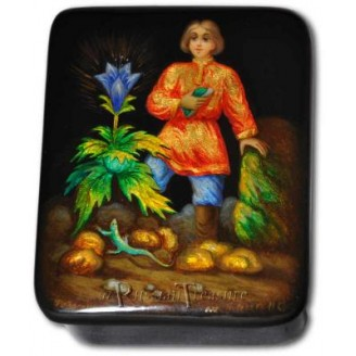 Stone Flower Fairytale - Fedoskino Lacquer Box