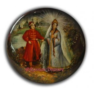 Tsar Saltan - Fedoskino Lacquer Box