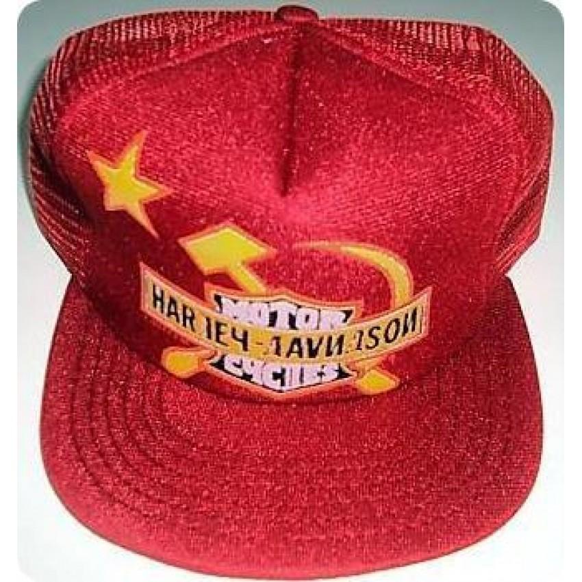 Harley Davidson CCCP USSR Vintage Hat 9e976b383bd