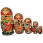 The Firebird Fairytale, Ivan the Fool - Matryoshka Nesting Dolls