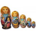 The Nutcracker Fairytale - Matryoshka Nesting Dolls