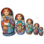 Sadko Fairytale - Matryoshka Nesting Dolls