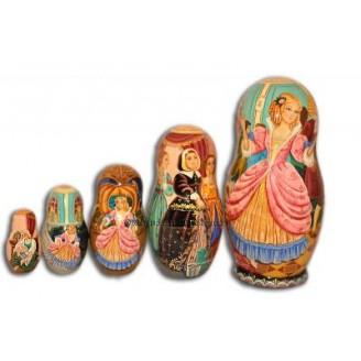 Cinderella  - Matryoshka Nesting Dolls