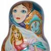 The  Cinderella - Babushka Nesting Dolls