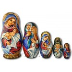Holy Family - Matryoshka Nesting Dolls