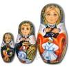 Humpbacked Pony Fairytale - Russian Matryoshka Nesting Dolls