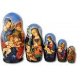 Madonna of the Rocks - Matreshka Dolls