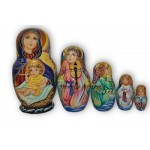 Nativity Scene - Matryoshka Nesting Dolls