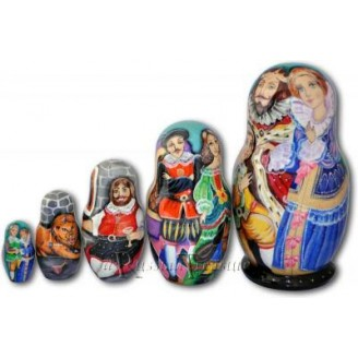 Puss in Boots - Russia Nesting Dolls
