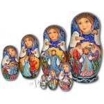 The Snow Maiden Fairytale - Matryoshka Nesting Dolls