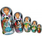 The Snow Maiden Fairytale - Russian Matryoshka Nesting Dolls