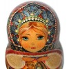 Stone Flower by Bazhov - Russian Nested Dolls