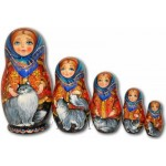 The Gray Cats - Matryoshka Nesting Dolls