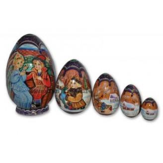 The Magic Pike Fairytale - Matryoshka Nesting Eggs