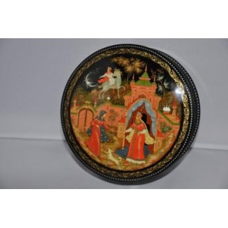 The Tale of the Dead Princess - Palekh Lacquer Box