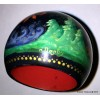 Firebird Fairy Tale Palekh Sphere Lacquer Box by Abramova