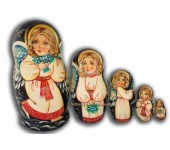 Angels with Girl Faces - Matreshka dolls