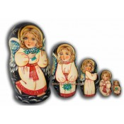 Angels with Girl Faces - Matreshka dolls