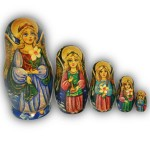 The Angels with Sweet Face - Matryoshka Nesting Dolls