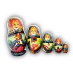 Matryoshka Doll - Animals by Gorbachev from Khotkovo Village