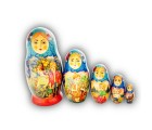 Matryoshka Doll - Village Kids by Zolov from Khotkovo Village