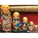 Cinderella Fairytale by Olga Sukhovej - Matryoshka Nesting Dolls