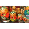 Four Seasons - Summer Design - Matryoshka Nesting Dolls