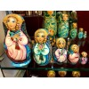 Angels Golden locks Matryoshka Dolls