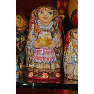 Easter Nesting Matryoshka Dolls