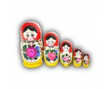 Medium Semenovo Design Matryoshka Set