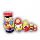Village Family Matryoshka Dolls