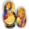 Virgin Mary with Angels - Religious Matryoshka Nesting Dolls