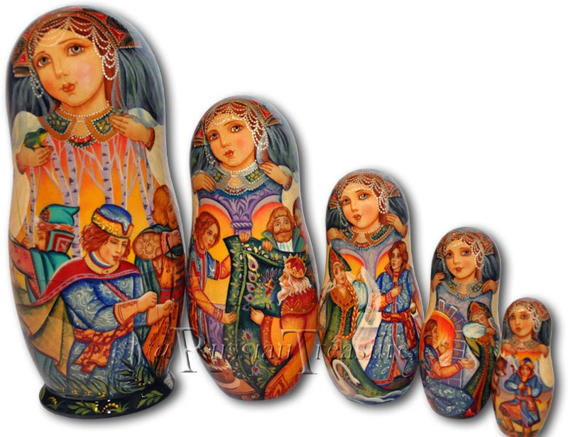 Exclusive Matryoshka Dolls
