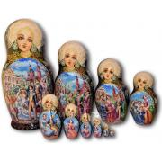 Sold Exclusive Nesting Dolls