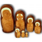 Russian Orthodox Icons of Virgin Mary - Matrushka Dolls
