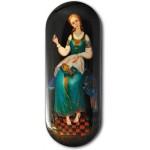 Marya, the Mistress of the Needlework - Fedoskino Lacquer Box
