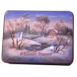 Winter House - Fedoskino Lacquer Box
