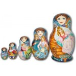 The  Cinderella - Babushka Nesting Dolls