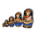 The Mother Hen and Chickens - Matryoshka Nesting Dolls
