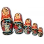 Winter Entertainments  - Matryoshka Nesting Dolls