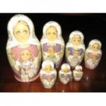 Children At Play - Matryoshka Nesting Dolls