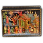 The Snowmaiden Fairytale - Palekh Lacquer Box